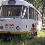 трамвай сошел8
