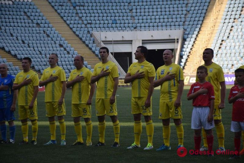 Мэры городов Украины и Словакии сыграли в футбол в Одессе