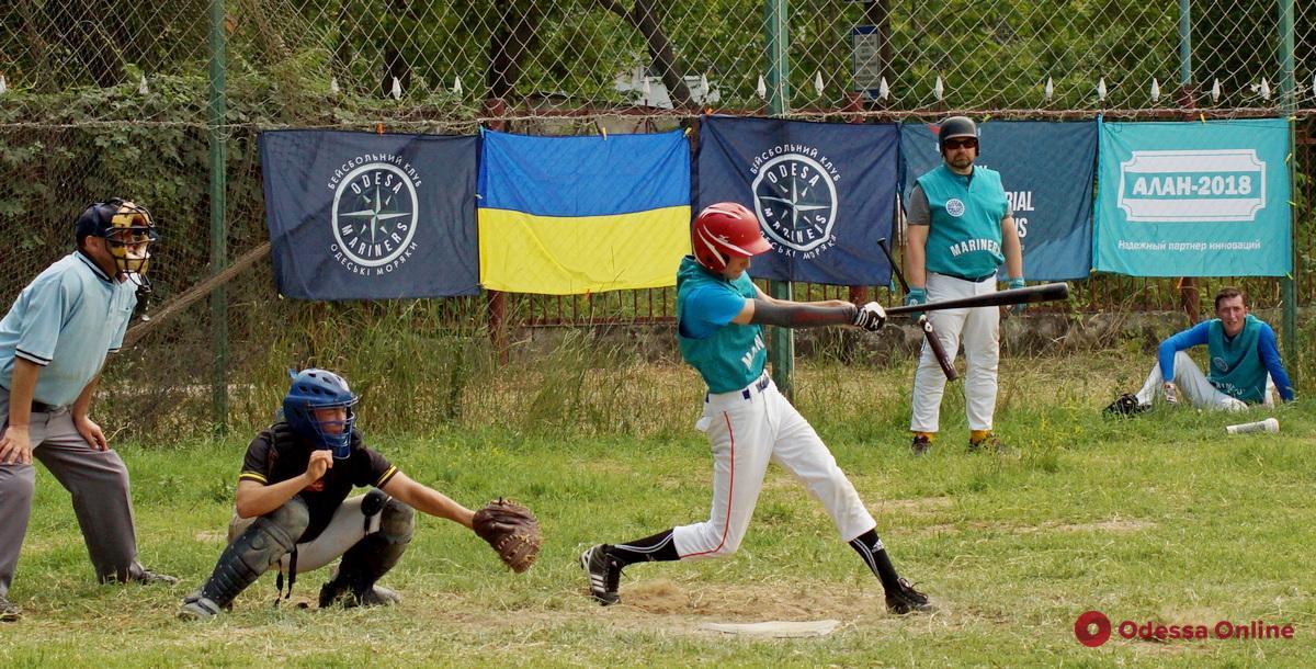 Бейсбол: одесские «Моряки» дебютировали в высшей лиге чемпионата Украины