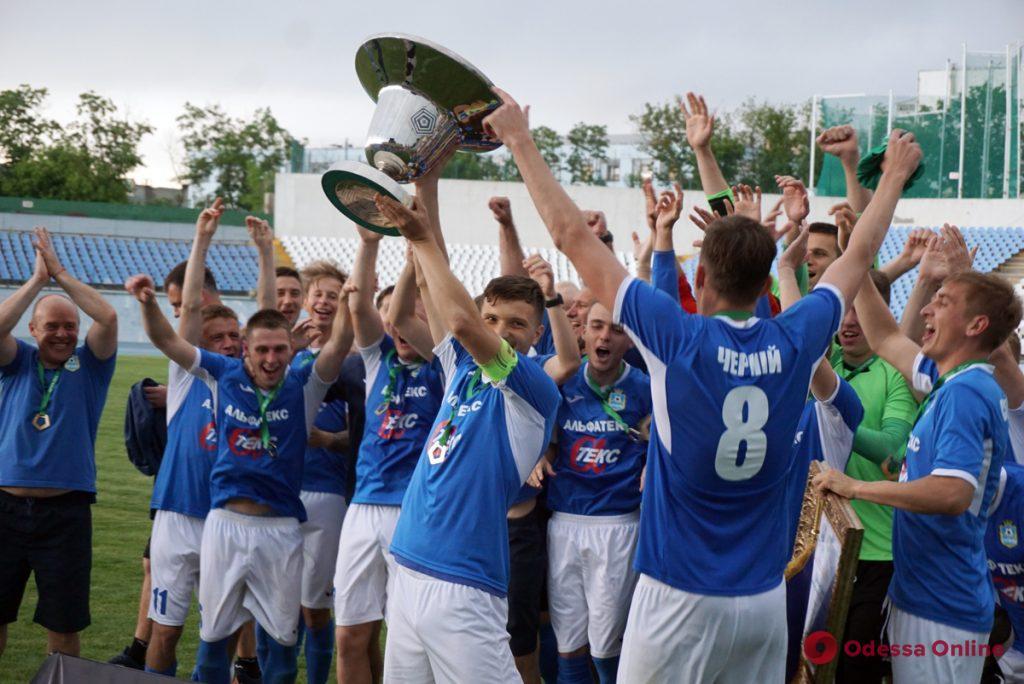 Одесский футболист – абсолютный чемпион второй украинской лиги