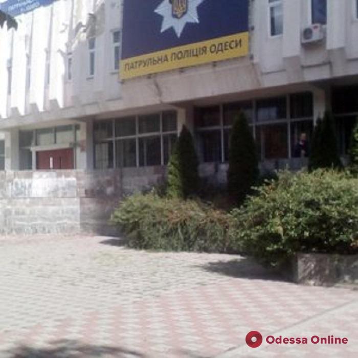 Одесса: в подвале управления патрульной полиции произошло задымление (обновлено)