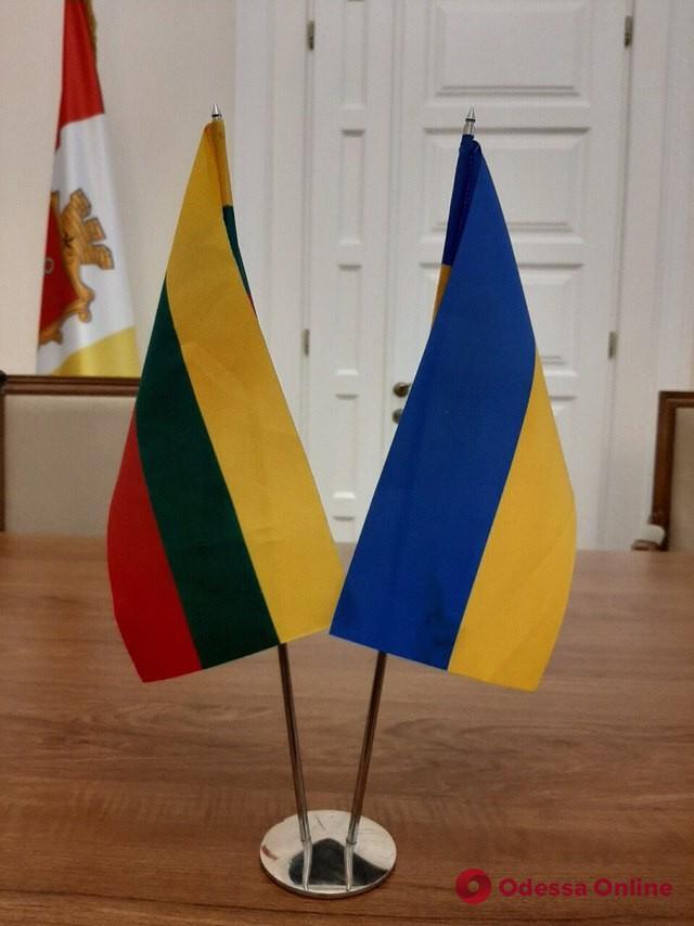 Одессу посетил литовский парламентарий