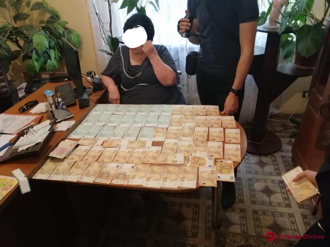 Одесская область: пойманную на взятке главу сельсовета отправили в СИЗО