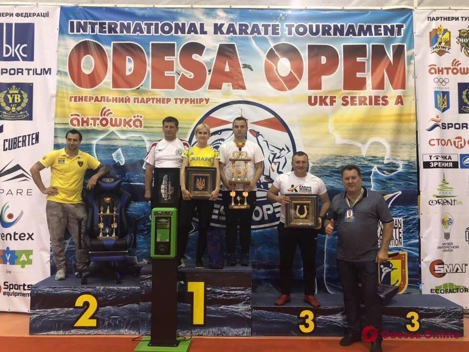 В Одессе состоялся престижный международный турнир по каратэ
