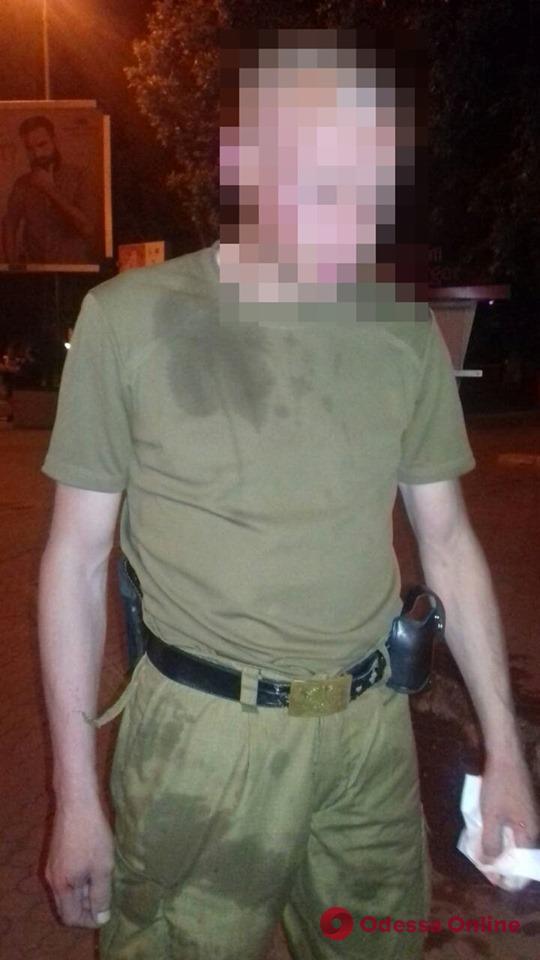 По улицам Черноморска разгуливал пьяный вооруженный гость из Чернигова