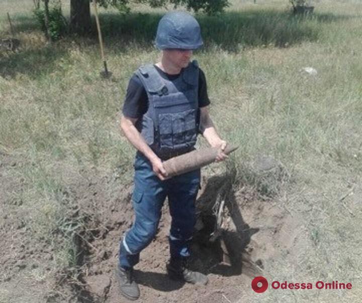 В Одесской области уничтожили боеприпасы времен Второй мировой