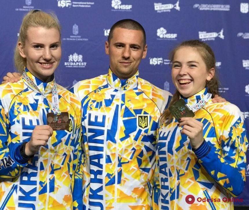 Одесситы успешно выступили на Всемирных играх по единоборствам среди школьников