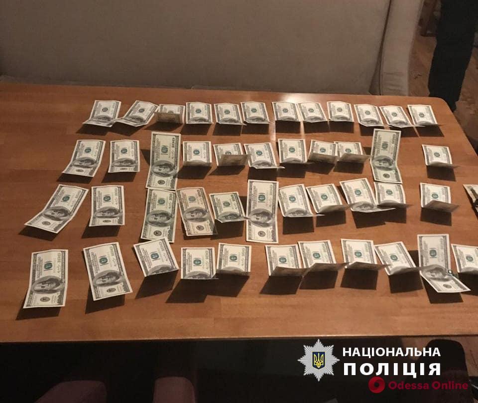 В Одессе погорел на взятке инспектор управления Гоструда
