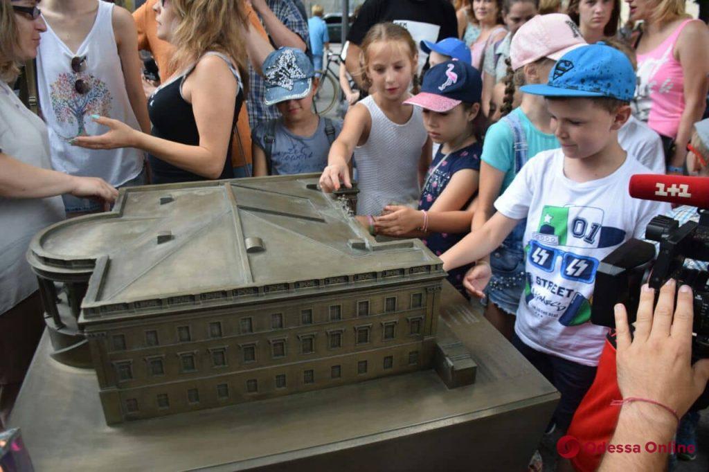 В Одессе появились мини-копии достопримечательностей города