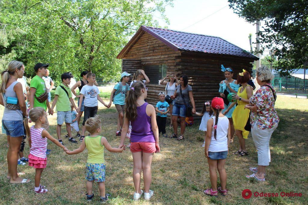 В Одесском зоопарке состоялся веселый праздник «День павлина»