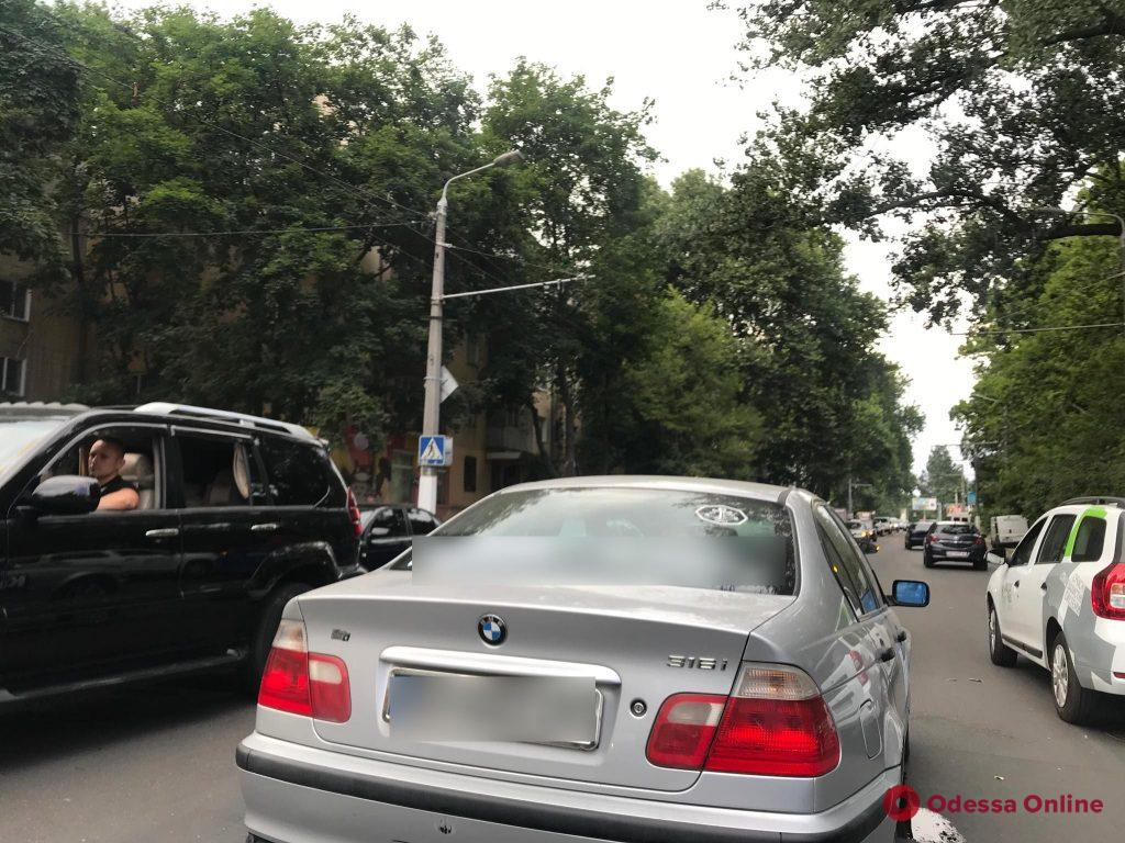 На Сегедской столкнулись BMW и Hyundai
