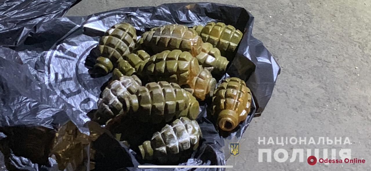 В Одессе военнослужащего отправили в СИЗО за торговлю гранатами