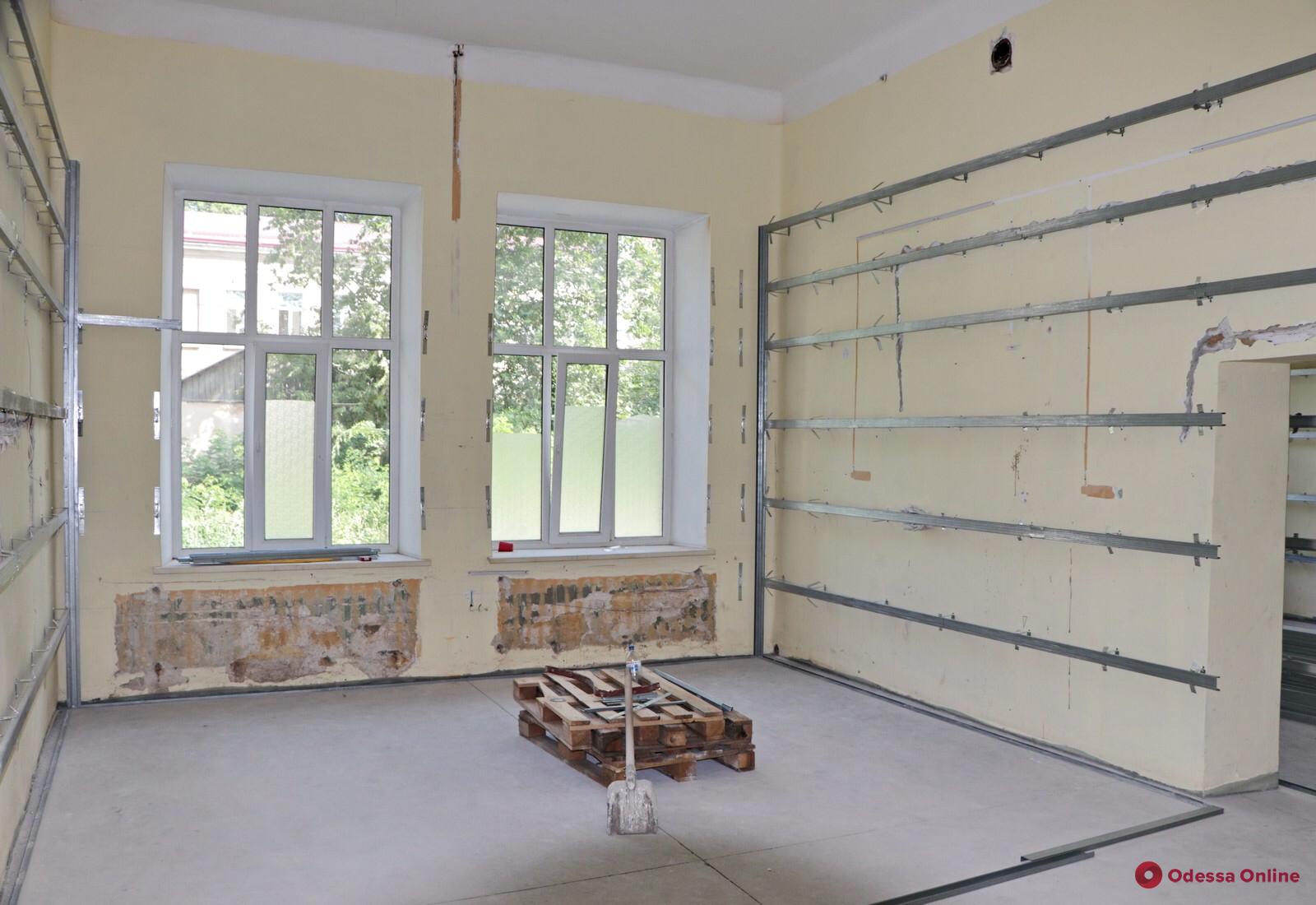 Одесса: в Еврейской больнице идет капремонт