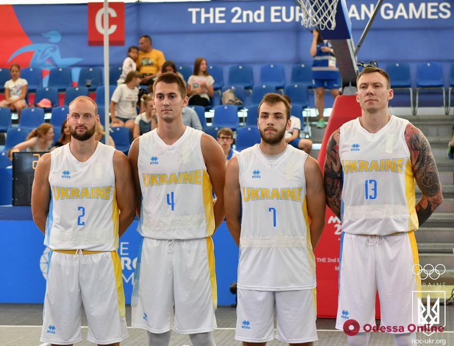 Европейские игры: сборная Украины по баскетболу 3х3 с одесситом в составе выбывает из борьбы