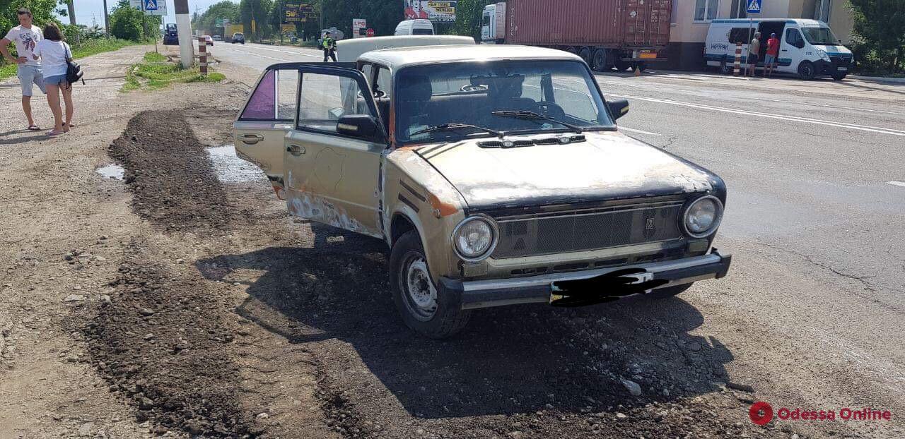 В Одессе нашли угнанный автомобиль