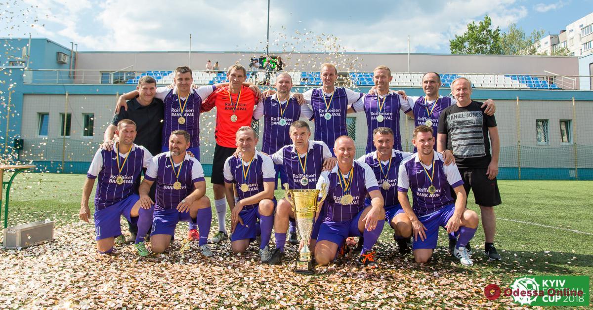 Футбол: две одесские команды примут участие в международном турнире среди ветеранов