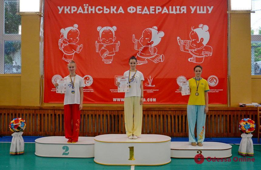 Ушу: сборная Одесской области привезла более 50-ти медалей всеукраинских турниров