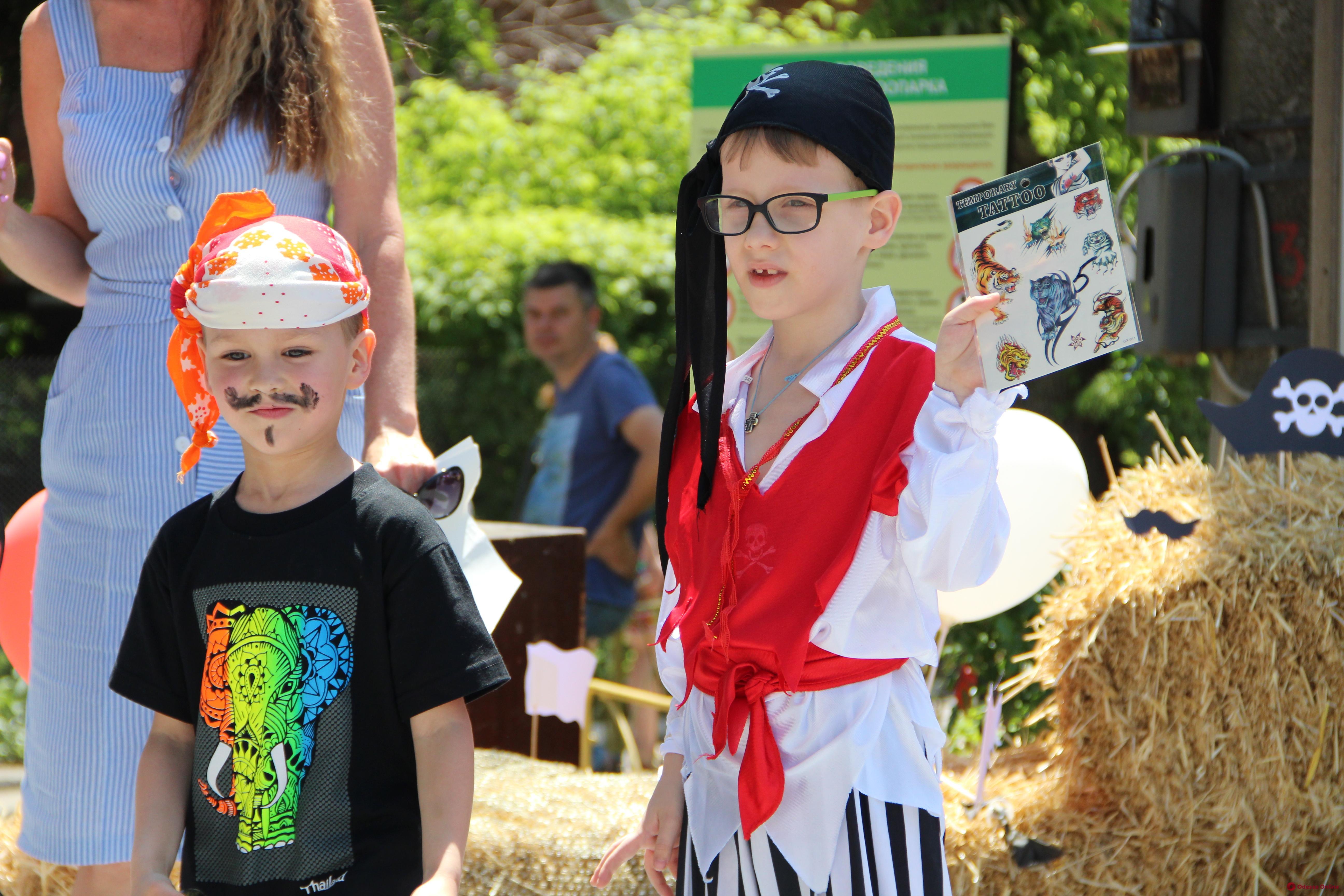 В Одесском зоопарке устроили пиратскую вечеринку (фото)