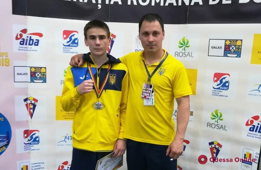 Одесский боксер завоевал медаль чемпионата Европы