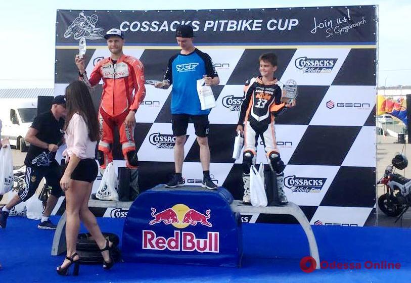 Одесский мотогонщик выиграл этап международного турнира