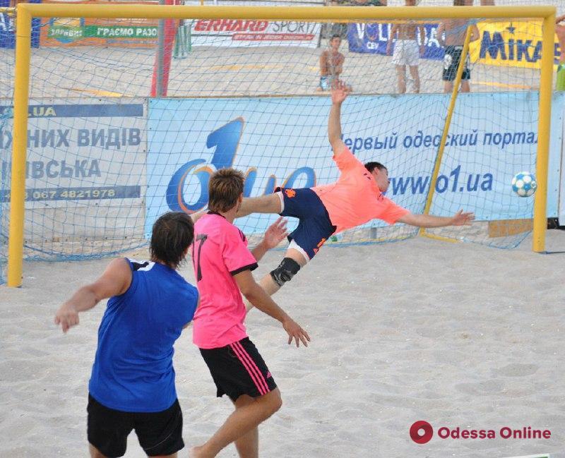 В Одессе стартует региональный этап чемпионата Украины по пляжному футболу