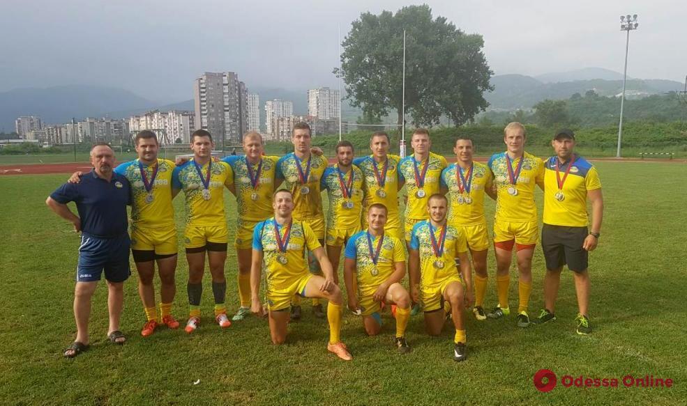 Одесские регбисты стали вице-чемпионами Европы по регби-7 (обновлено)