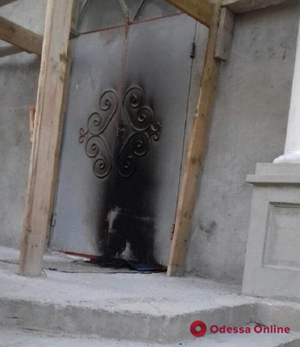 В Одесской области пытались сжечь строящийся храм