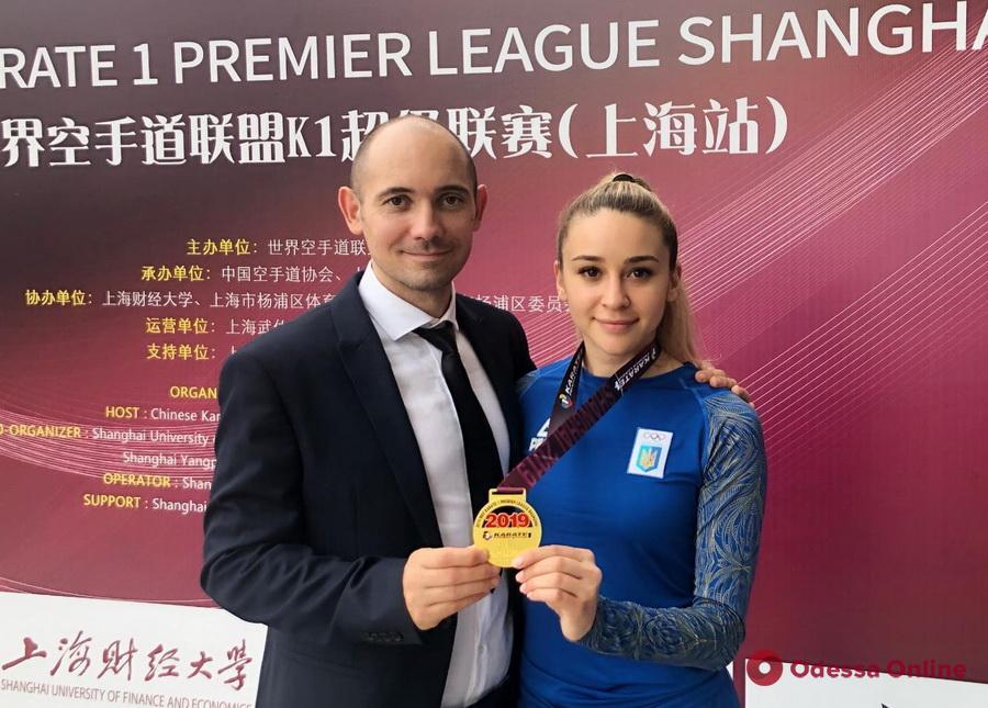 Очаровательная одесситка завоевала «золото» крупного турнира по каратэ в Китае