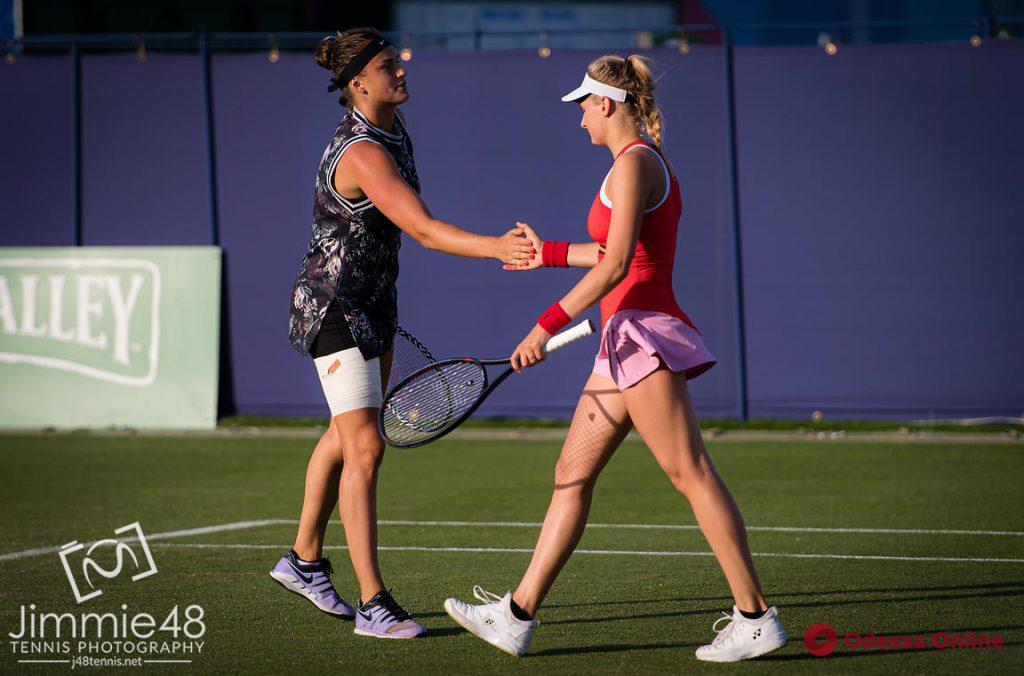 Теннис: одесситка покидает турнир серии WTA Premier в Англии