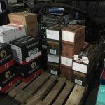 Под Одессой обнаружили контрабанду алкоголя на 2 миллиона