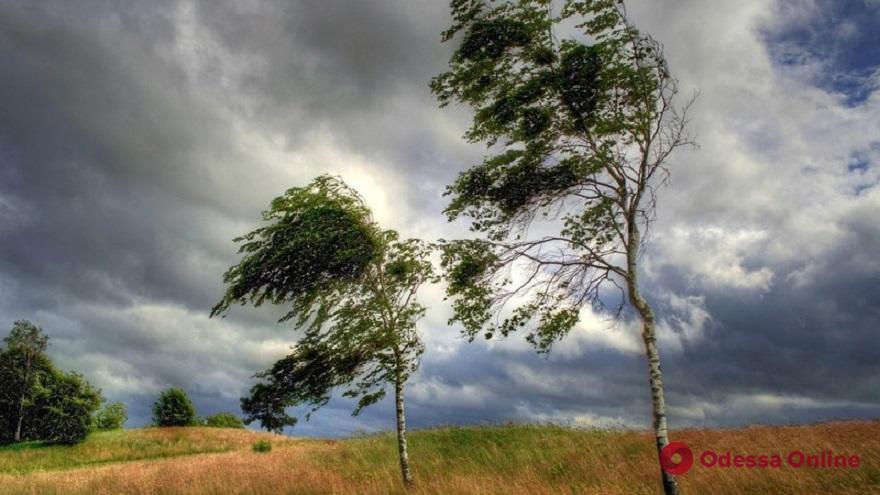 В Одесской области ожидаются шквалы и грозы