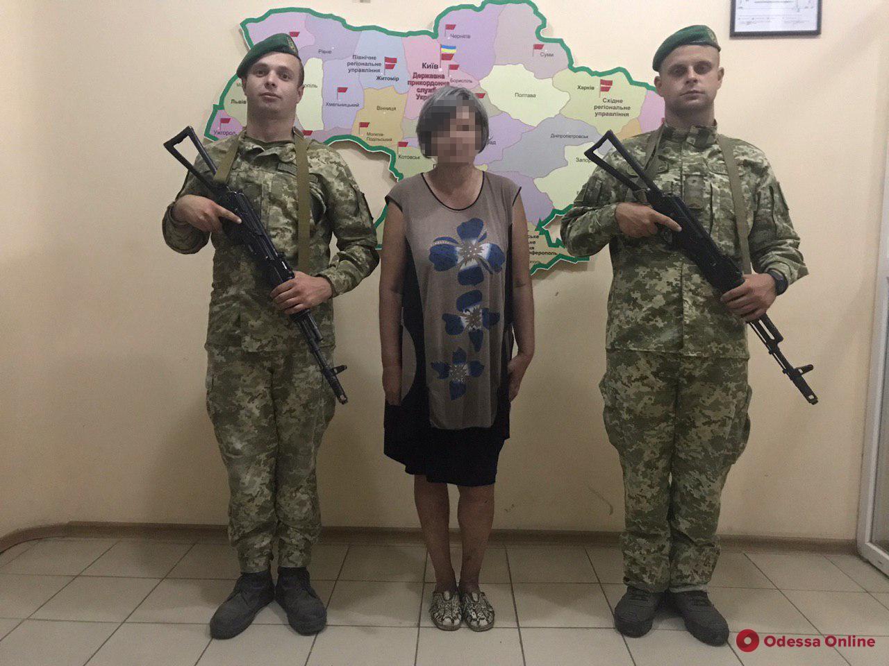 В Одесской области задержали нарушительницу границы из Молдовы