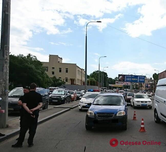 На Балковской Chevrolet сбил пешехода