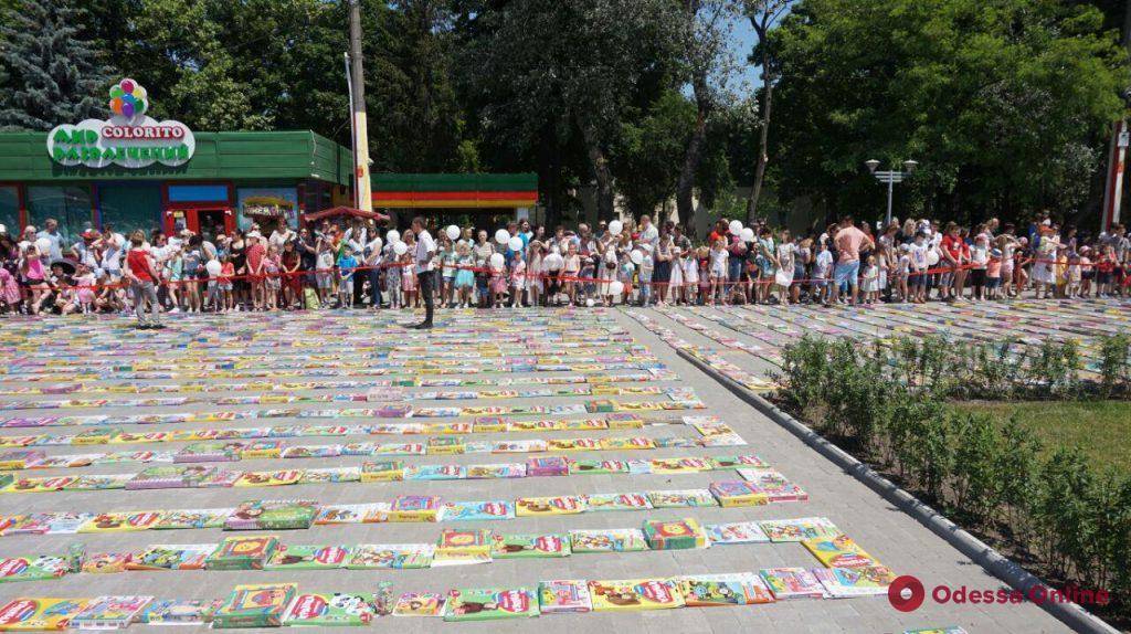 Вместо часа за пять минут: в парке Горького били рекорды и теряли детей (фото)