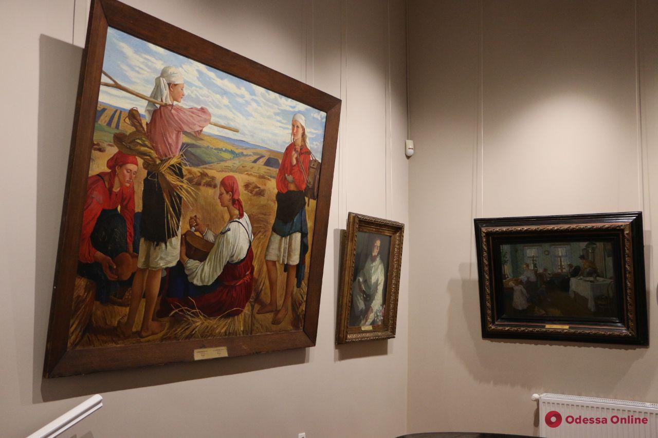 В Одесском художественном музее отремонтировали Серебряковский зал