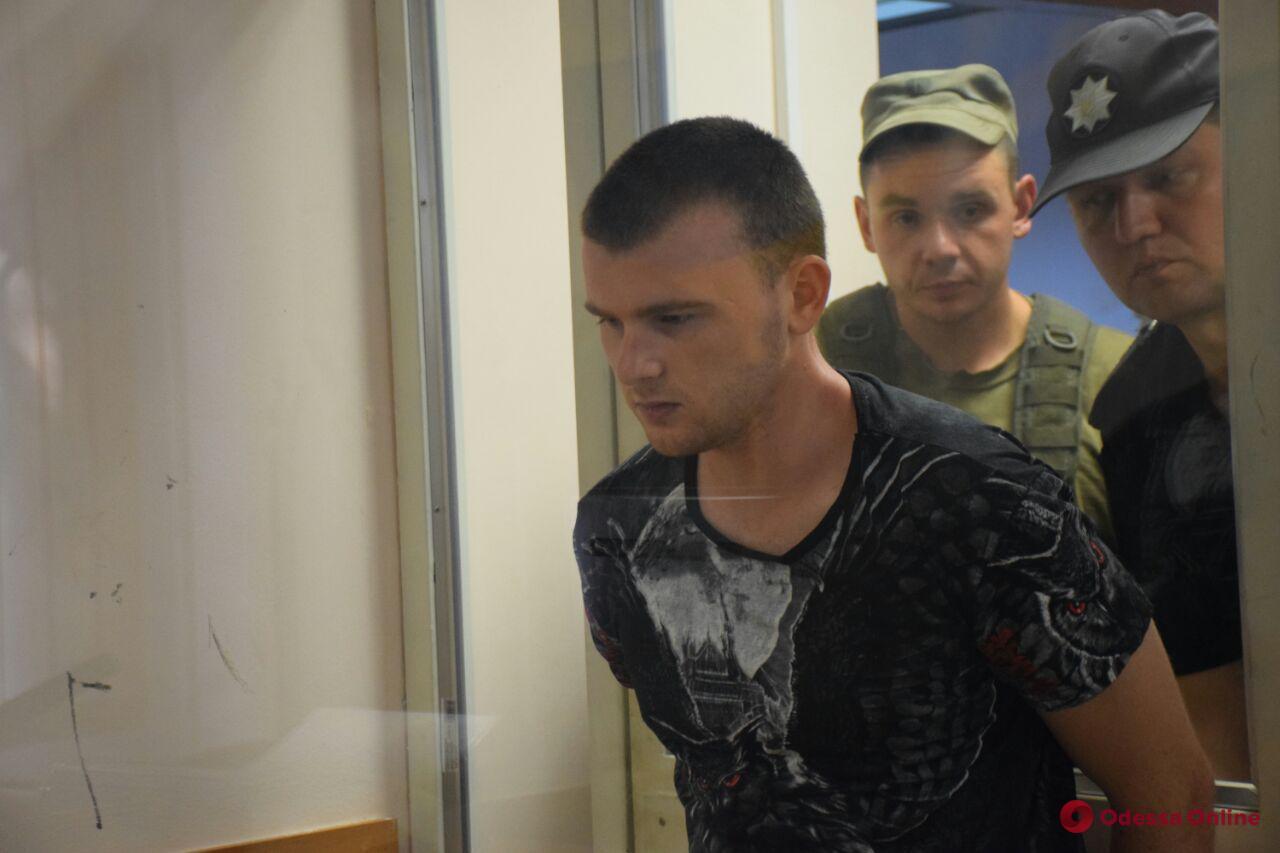 Одесский суд отправил в СИЗО убийцу 11-летней Дарьи Лукьяненко