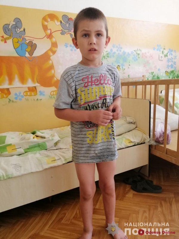 Полиция разыскивает родителей найденного в Одесской области мальчика