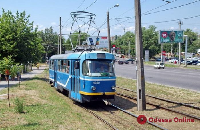 В одесском трамвае умер мужчина