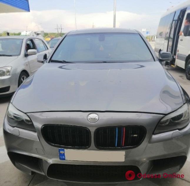 Угнанный BMW обнаружили пограничники в Одесской области