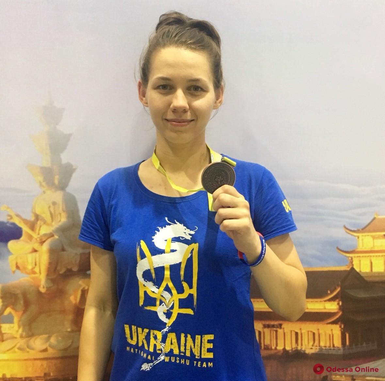 Одесситка завоевала медаль чемпионата мира по традиционному ушу