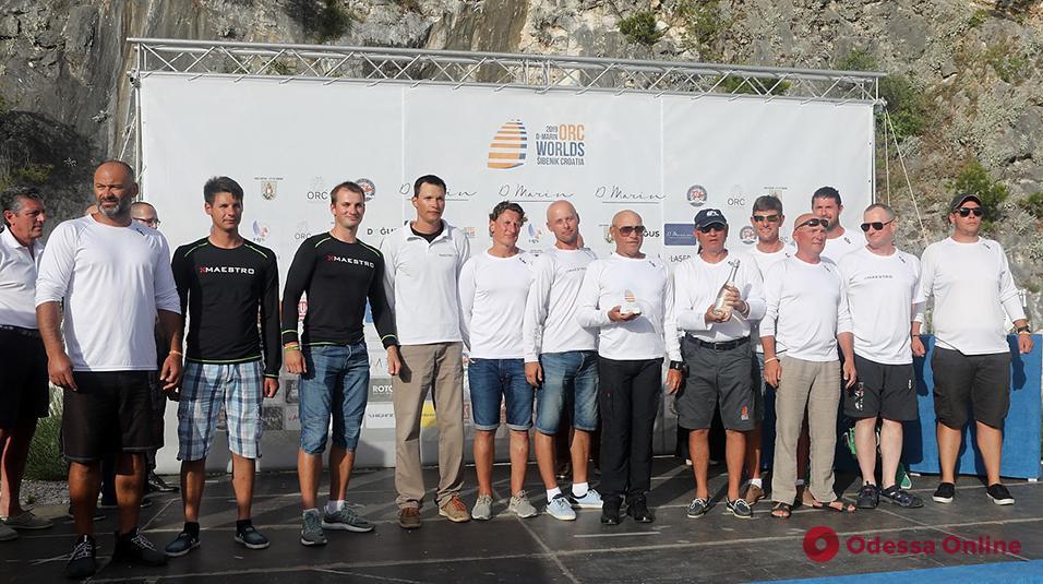 Одесситы стали серебряными призерами чемпионата мира по парусным гонкам крейсерских яхт