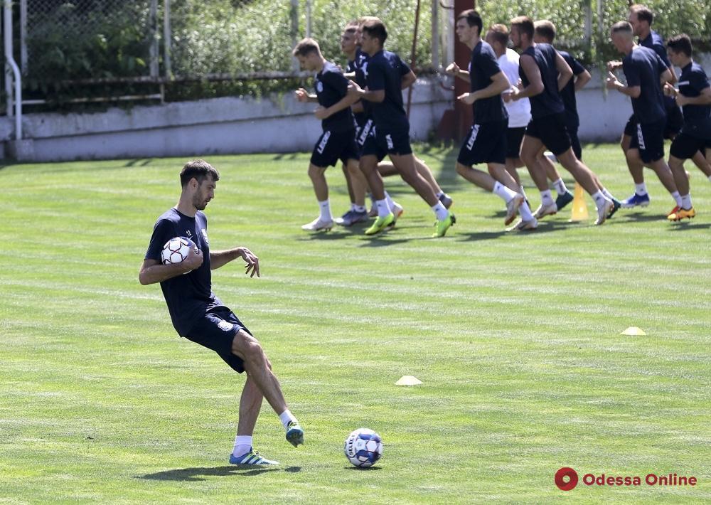 «Черноморец» начал подготовку к сезону: без Пятенко, но с Безотосным