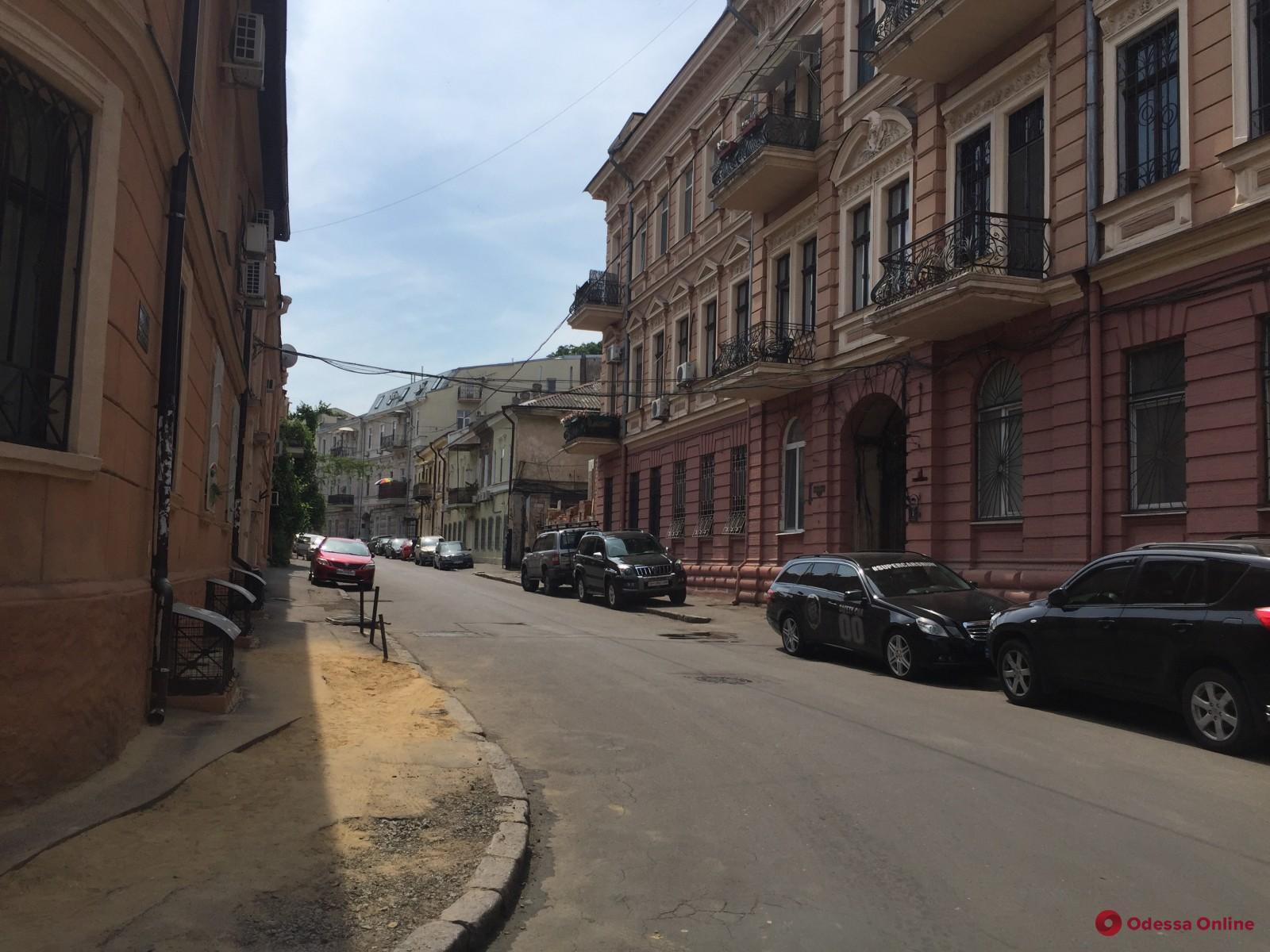 В Одессе начинается капремонт Воронцовского переулка