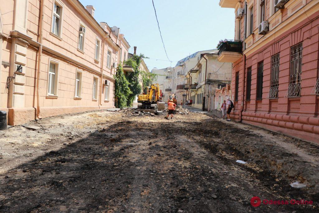 Воронцовский переулок начали капитально ремонтировать
