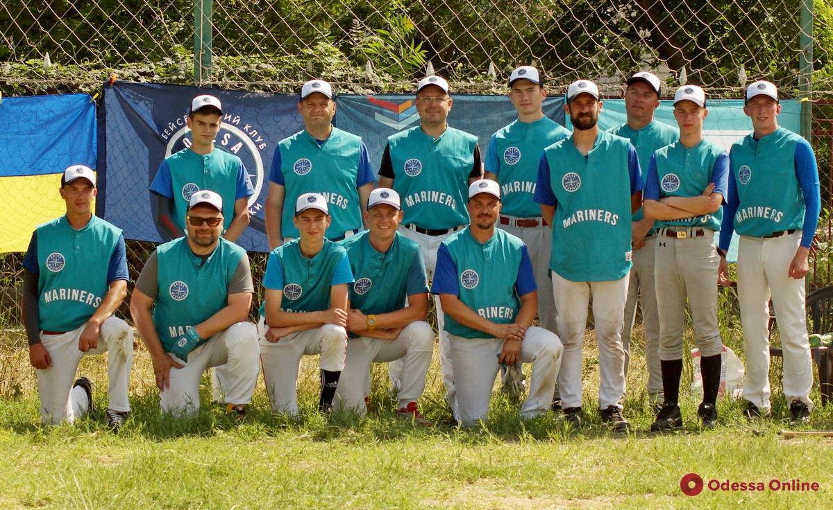 Бейсбол: одесские «Моряки» вновь разгромили в дерби «Дельфинов» из Черноморска