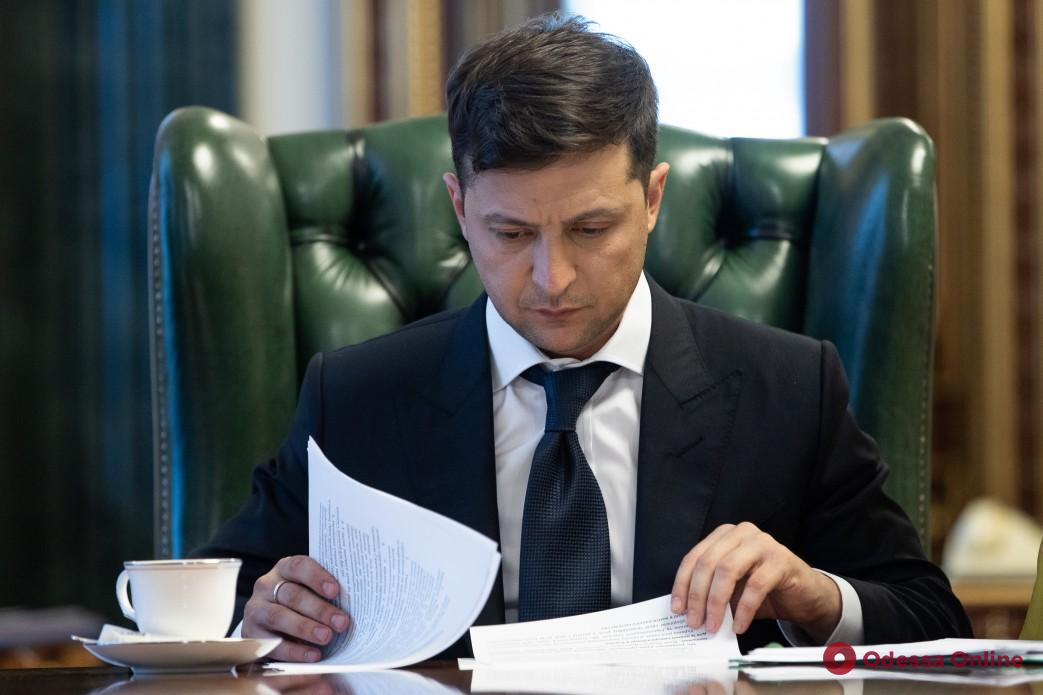 В Одесскую область едет президент