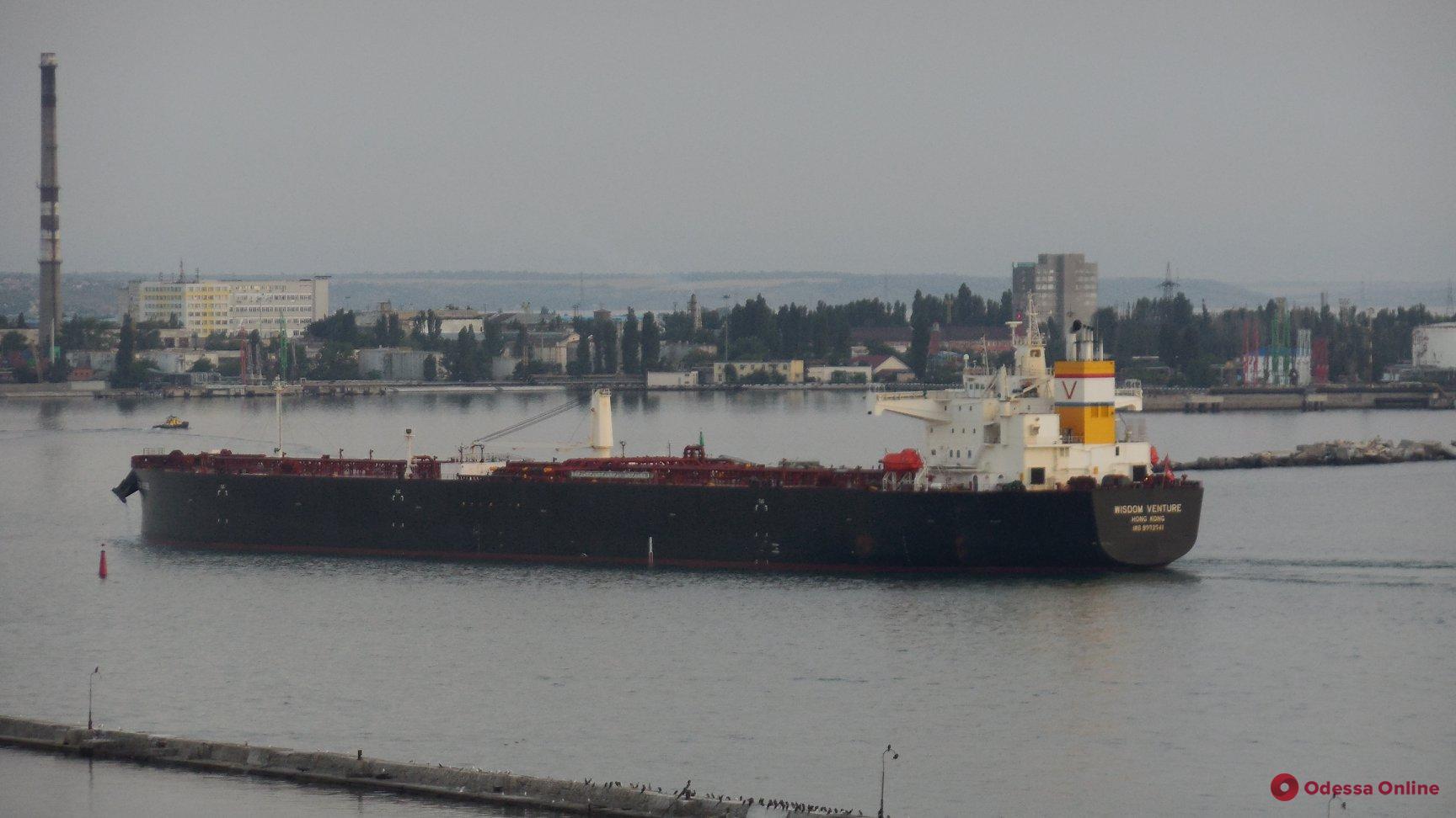 В Одесский порт доставили первую партию нефти из США