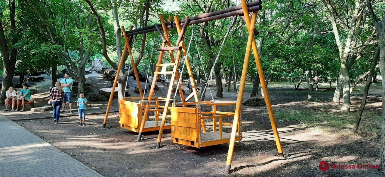 На поселке Котовского открыли инклюзивный парк