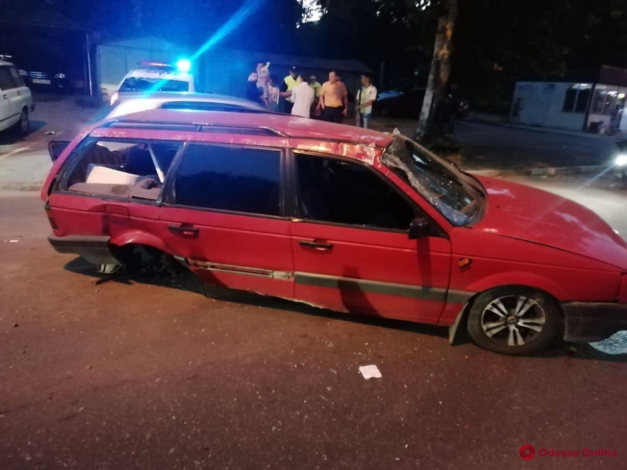 В Одессе столкнулись Volkswagen и Daewoo
