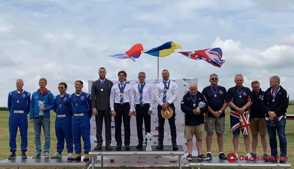 Одесситы в составе сборной Украины выиграли чемпионат мира по высшему пилотажу